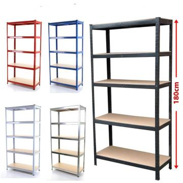 Home Kitchen Garage Wire Shelving Multi-Funtion Storage Rack Adjustable Metal Shelf